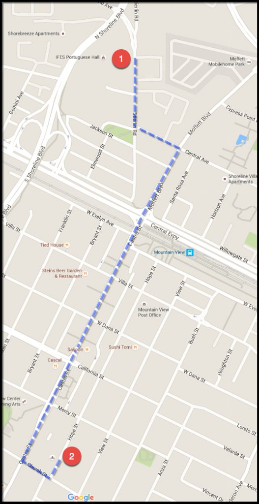 IFES Parade Route Map